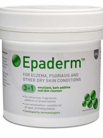 Epaderm Ointment 500g for Dry Skin Conditions