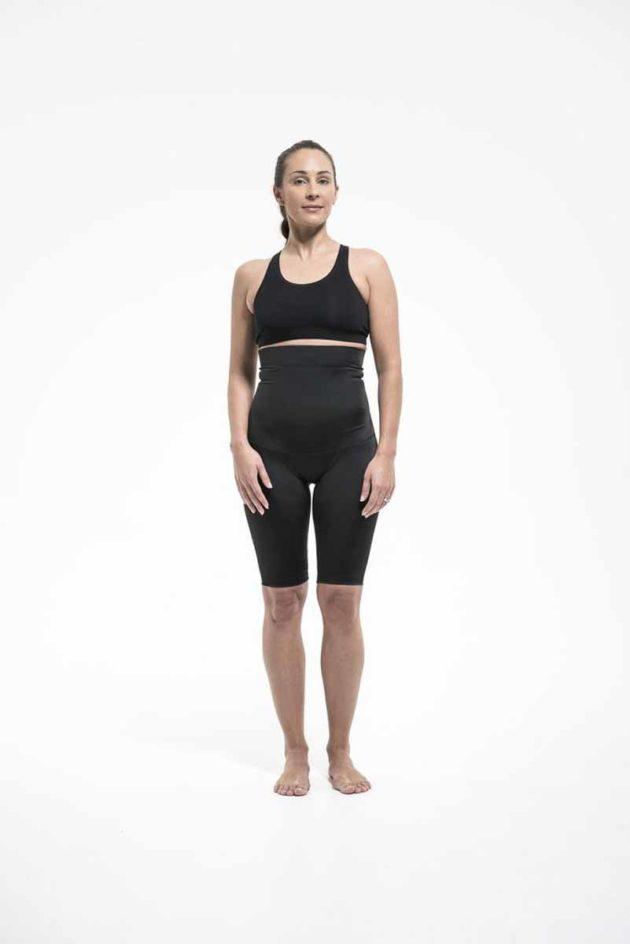SRC SurgiHeal Shorts High Waist Front