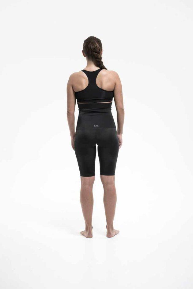 SRC SurgiHeal Shorts High Waist Back