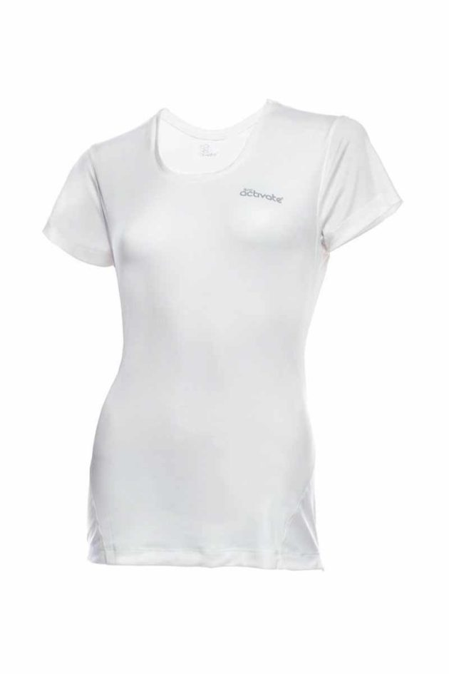 SRC Activate Sports Top White Front