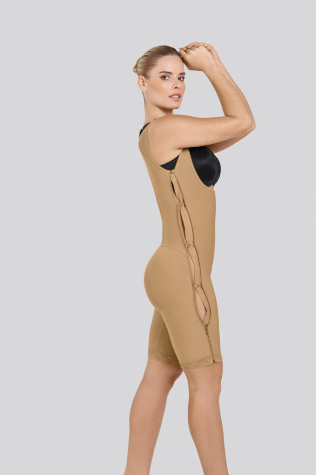 Leonisa Power Slim Body Shaper side hook and eye
