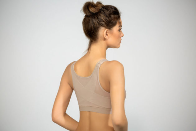 Leonisa Posture Corrector Bra Beige Back