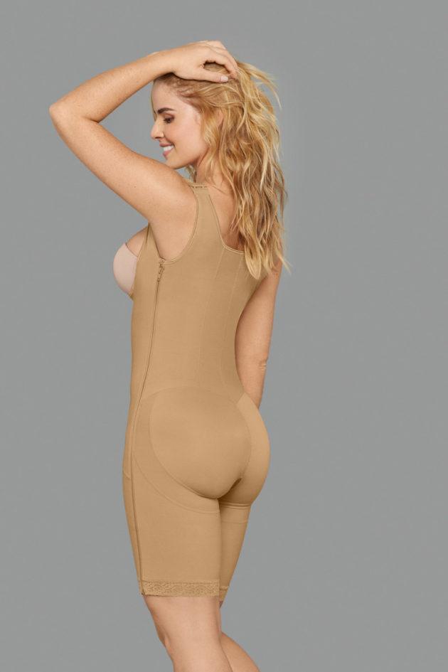 Leonisa Power Slim Body Shaper back beige