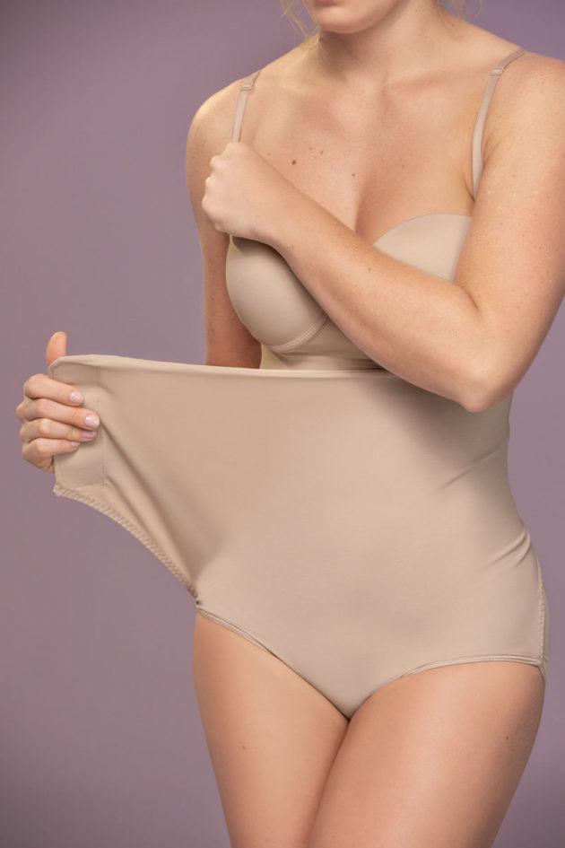 Leonisa High Waist Adjustable Panty Beige Adjustable
