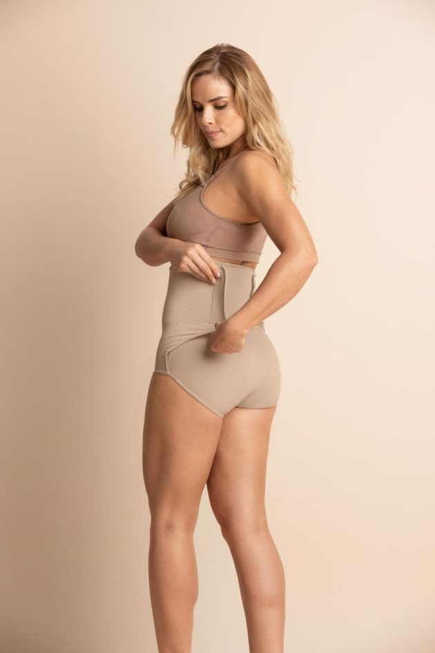 Leonisa High Waist Adjustable Panty Back Beige