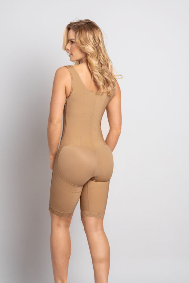 Leonisa Power Slim Body Shaper back beige detail