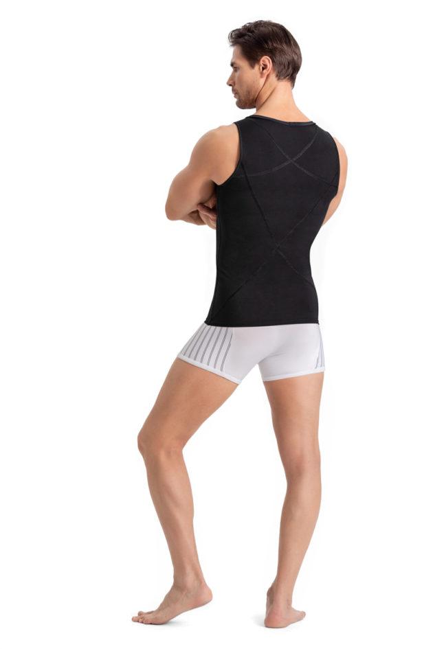 Leonisa Compression Singlet Black back