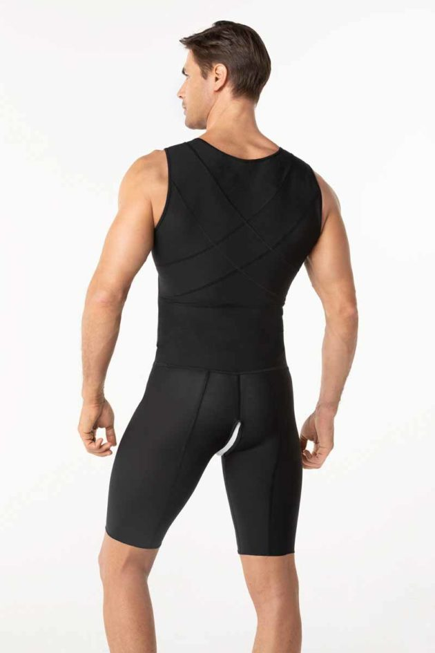 Leonisa Post Surgical Bodysuit Black Back