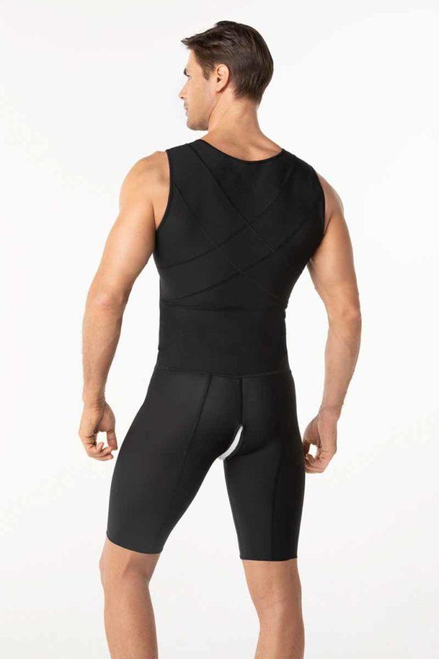 Leonisa Post Surgical Bodysuit Black Back