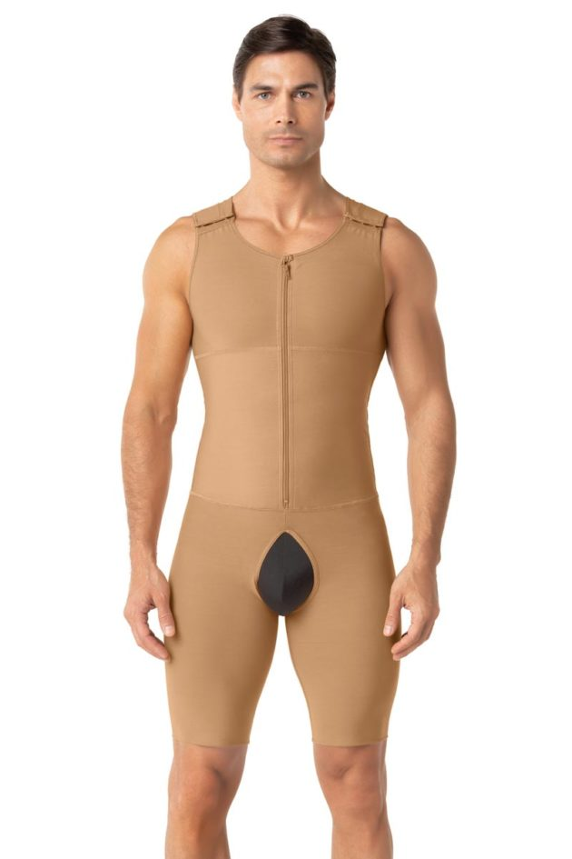 Leonisa Post Surgical Bodysuit Beige Front
