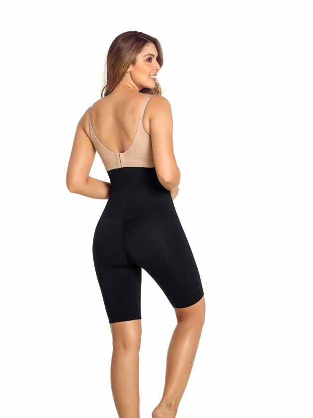 Leonisa High Waisted Shaper Shorts Black Back