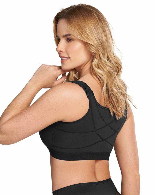 Leonisa Posture Corrector Bra Back Black