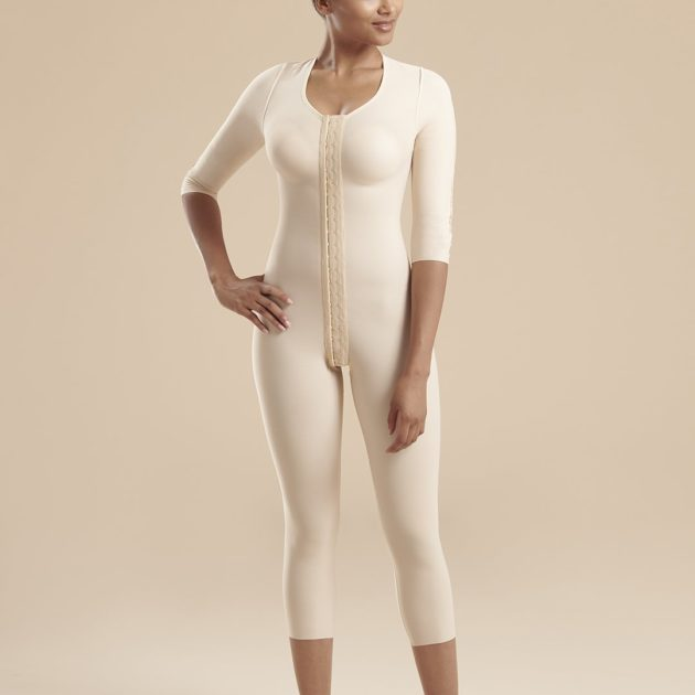 Marena FBBM bodysuit provides great covergae and compression