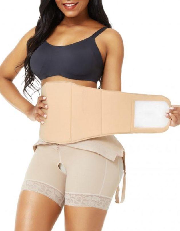 BodyAid wide Lipo Board with velcro closure