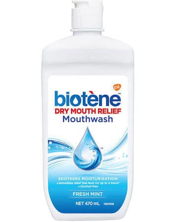 Biotene Mouthwash to keep your mouth fresh after surgery