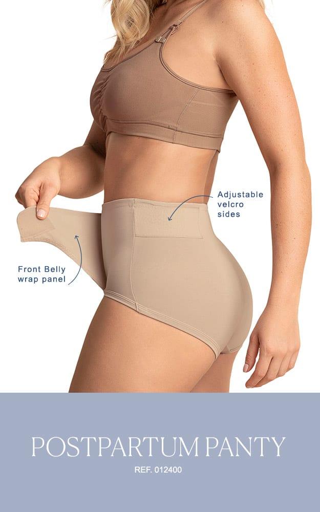 The Leonisa post partum adjustable panty in beige