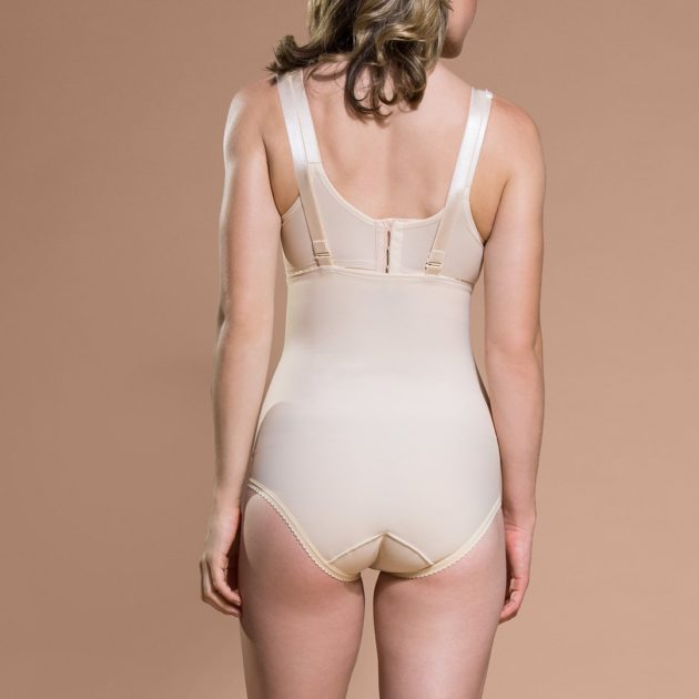 provides compression to the mid and lower back