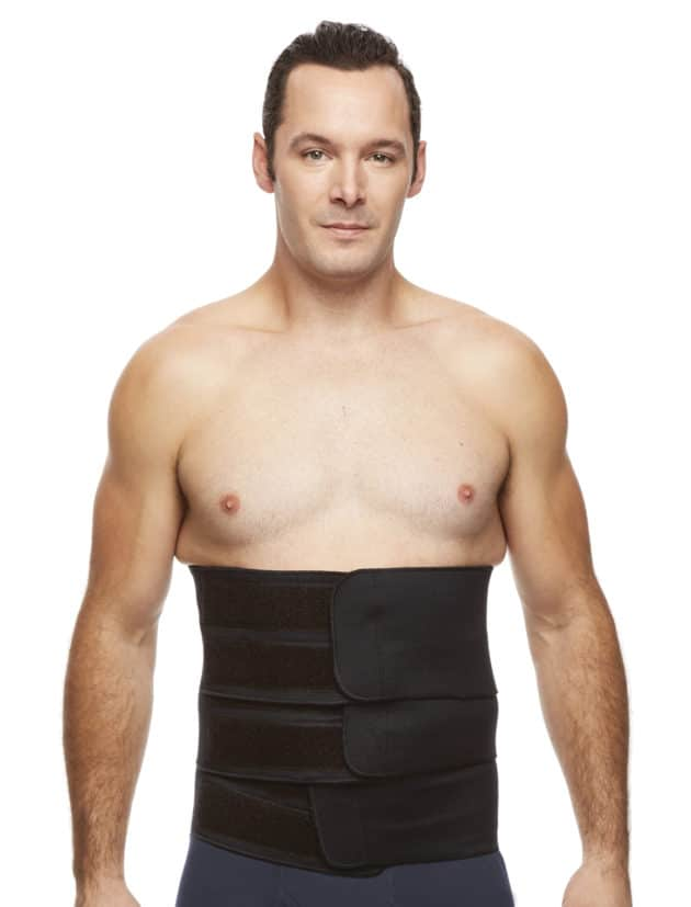 With three adjustable velcro flaps, the Tri Flap Binder provides targeted compression.